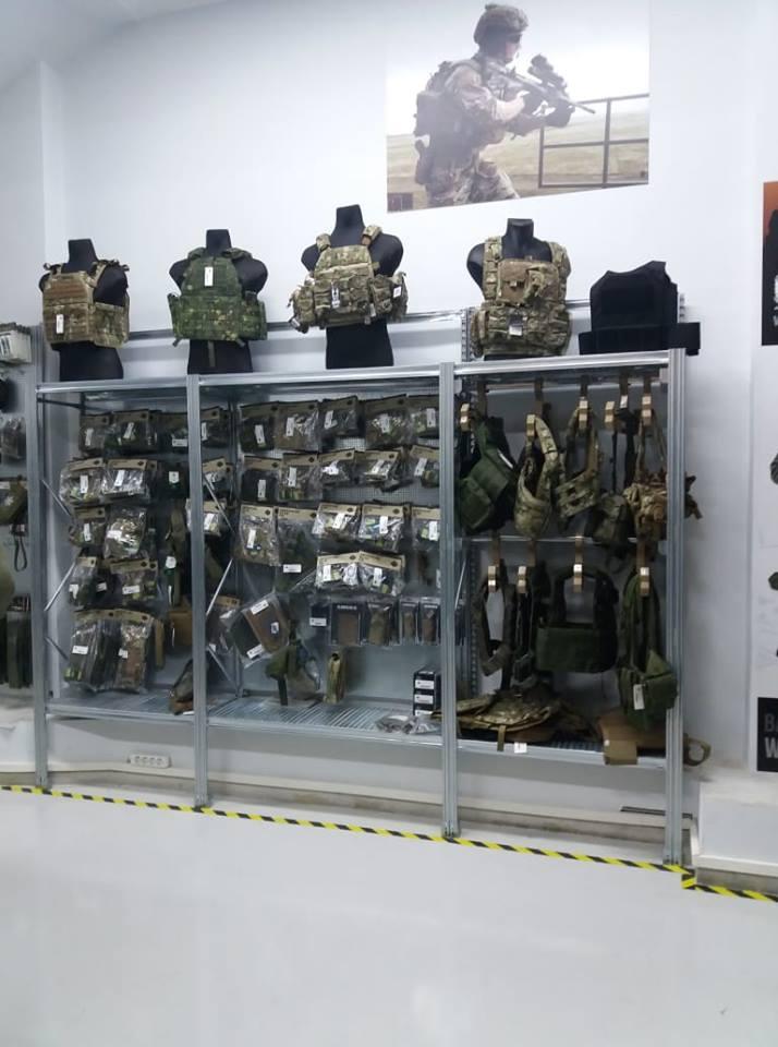 Τροποποίηση Εγκατάσταση στο κατάστημα με στρατιωτικά είδη στην Αθήνα ADVENTURE GEAR